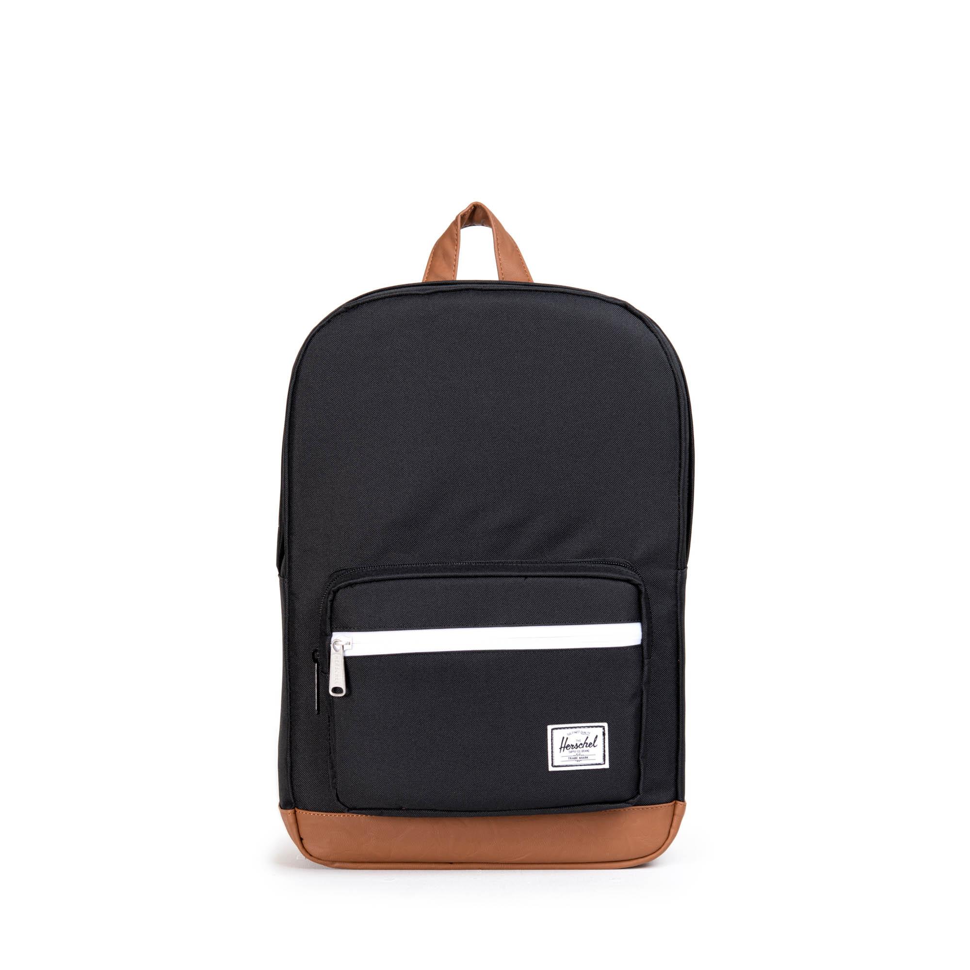 4e5b31b95ac Pop Quiz Youth Backpack - Black Tan White - Flying Point Surf