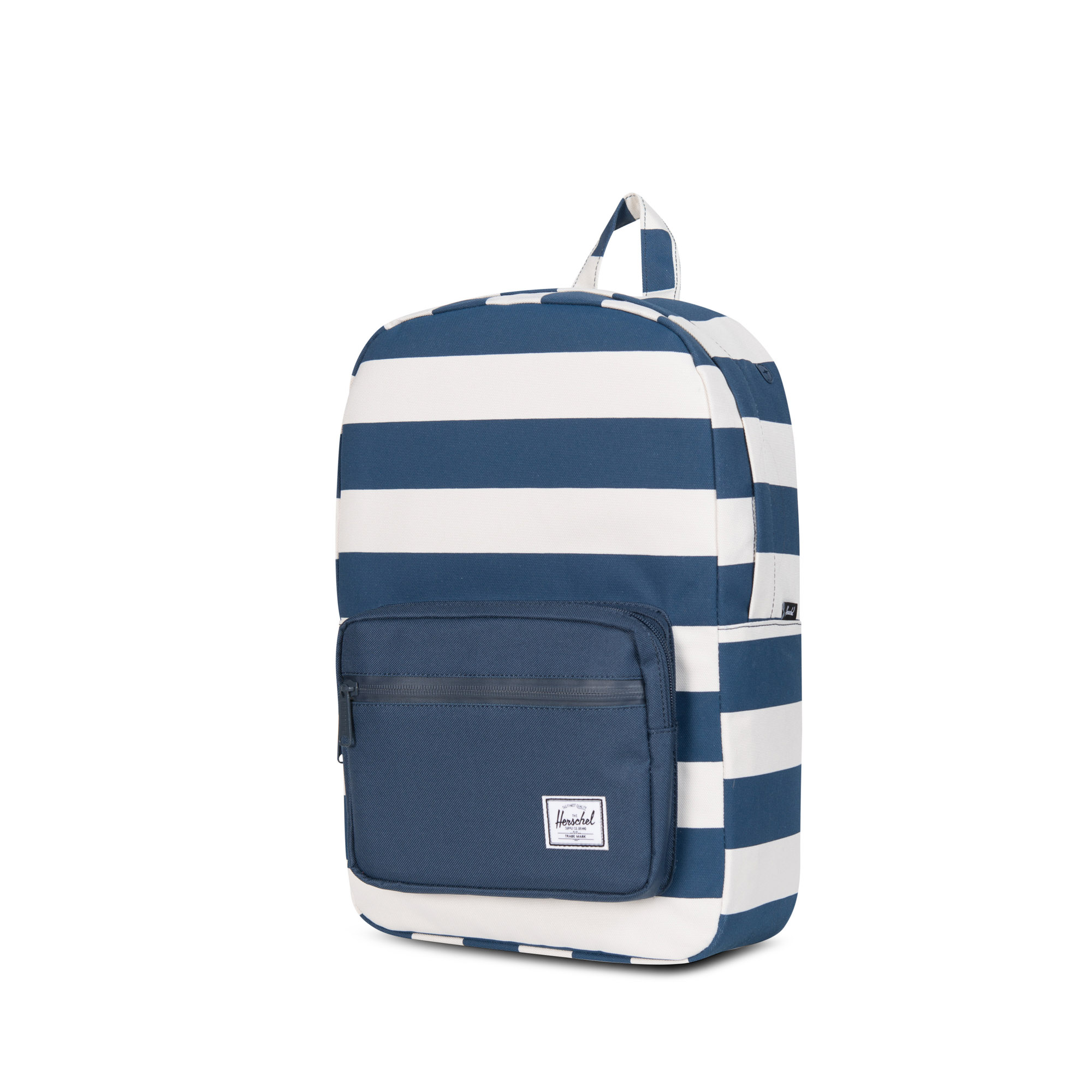 58772c9dd0a Pop Quiz Youth Backpack - Navy Natural Stripe - Flying Point Surf