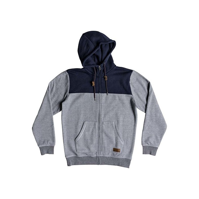 Quiksilver Keller Block Light Grey Heather
