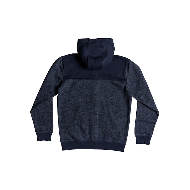 Quiksilver Keller Block Navy Blazer Heather