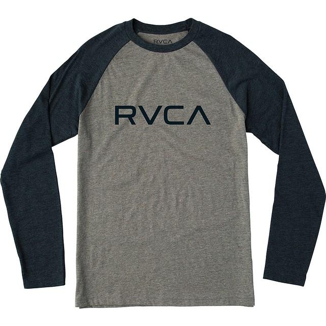RVCA Big RVCA Grey Noise/Navy