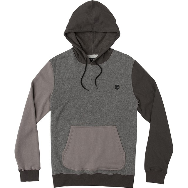 RVCA Ruddy Hoodie Smokey Grey Heather