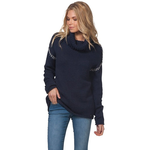 Rip Curl Leah Roll Neck Navy