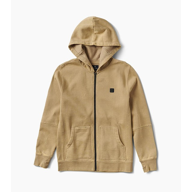 Roark Well Worn Fleece Khaki