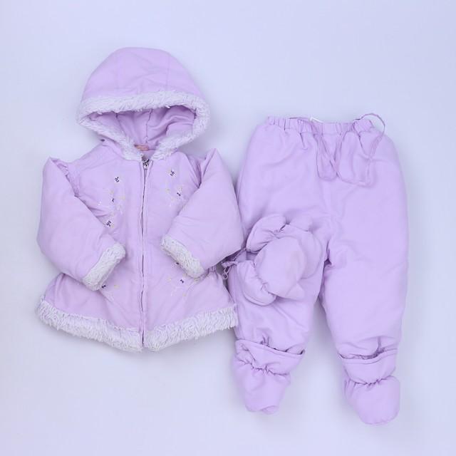 4241c8729 Rothschild 2-pieces Purple Bunting 18 Months