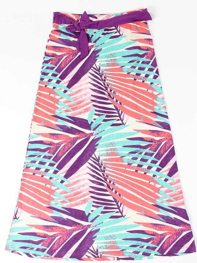41b85877ac Roxy Girls Palm Maxi Skirt Sugar Coral M New 889103074183 | eBay