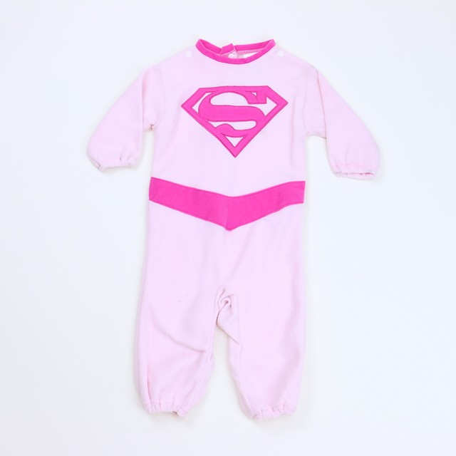 Super Girl Long Sleeve Outfit*6-12 Months