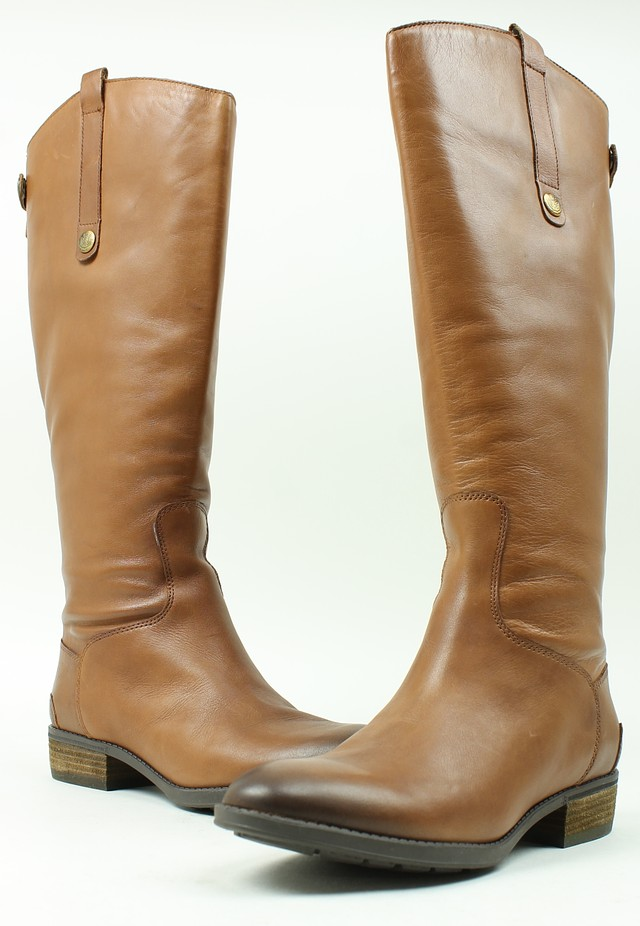 66db8e5f81dfb Sam Edelman Womens Penny 2 Leather WC Boots Whiskey 7 New