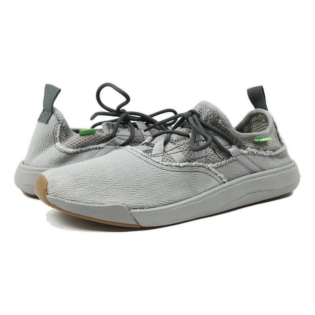 Sanuk Mens Chiba Quest Lace Shoes Grey