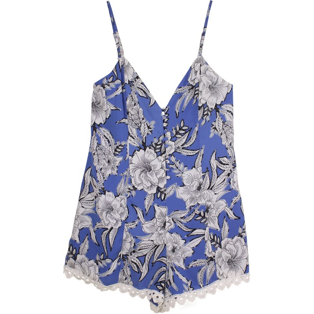 Lovers + Friends Sapphire Riviera Floral
