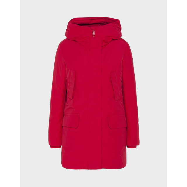 Save The Duck Copy Winter Hooded Parka Tango Red