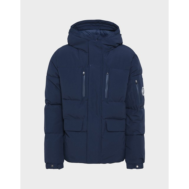 Save The Duck Copy Winter Hooded Parka Navy Blue