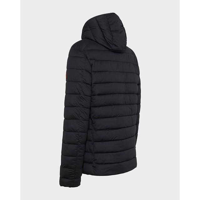 Sold Hooded Jacket - Blue Black