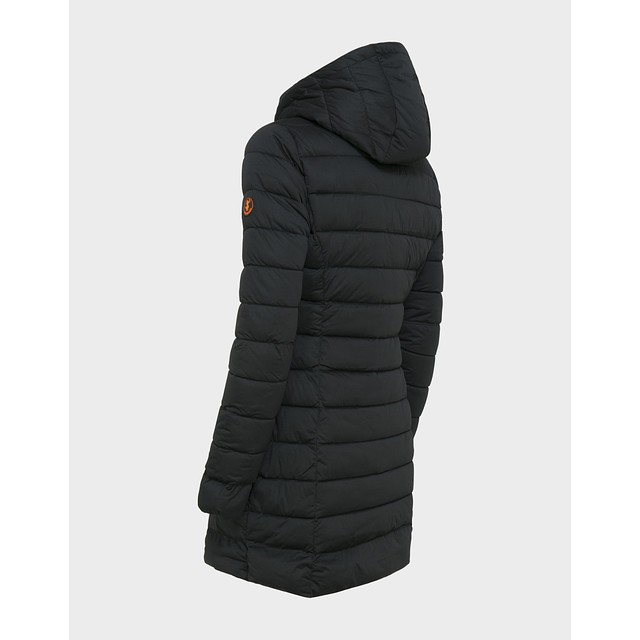 Sold Knitted Hooded - Black