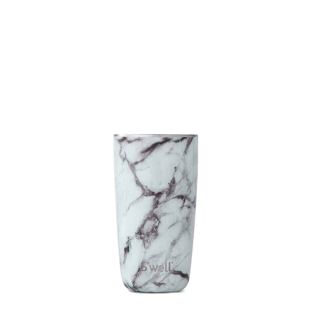 S'well Tumbler White Marble