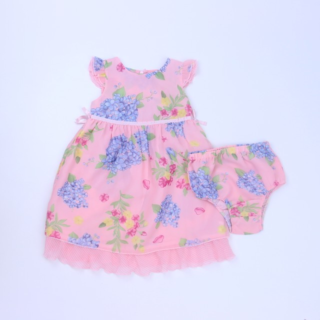 63d1b1ee109 The Children s Place Pink Floral Dress 24 Months