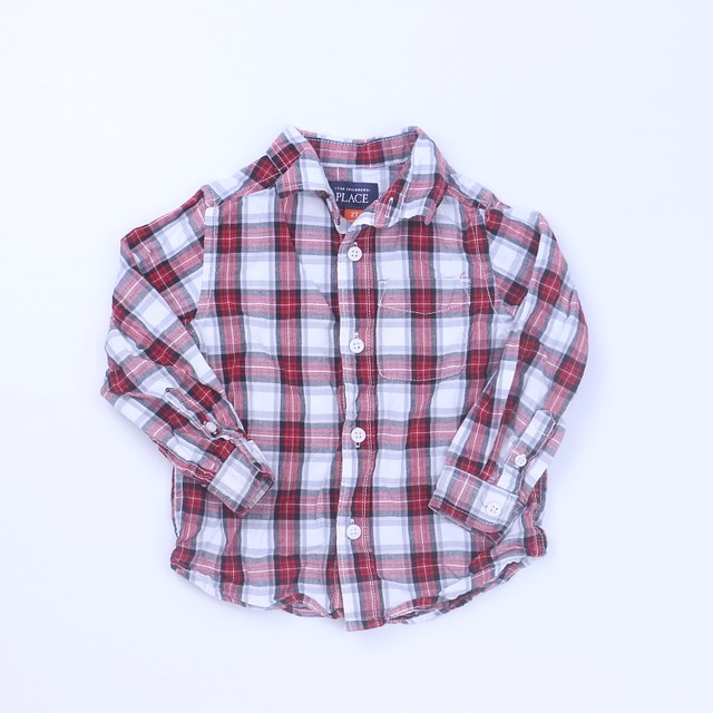 The Children's Place Button Down Long Sleeve2T