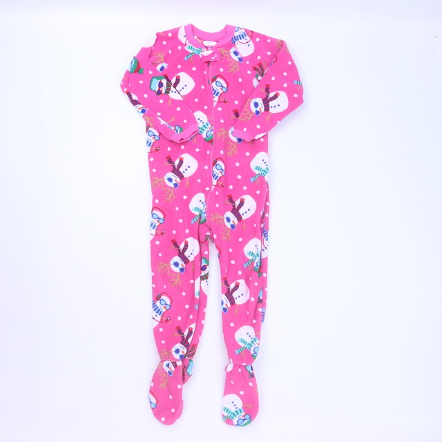 <h1> 1-piece footed Pajamas</h1> <h2>size: 4T</h2>