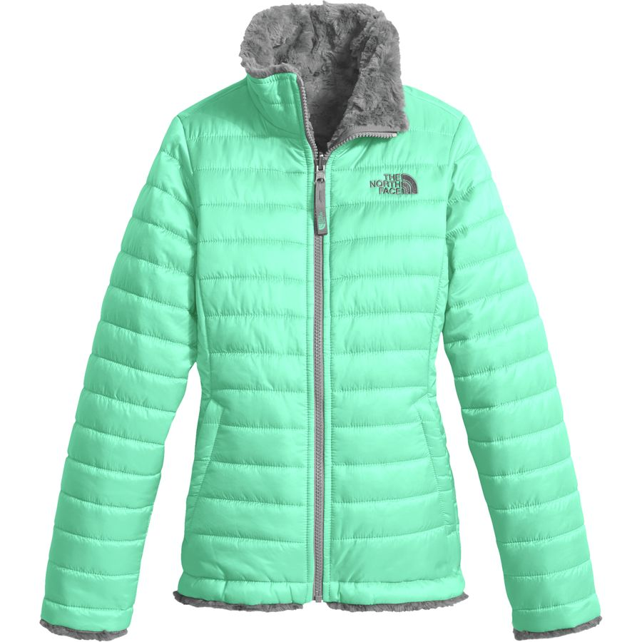 7e96e75d380a Clothing · Kids · Girls (8-16) · Jackets   Vests · Girls Reversible Mossbud  Swirl - Bermuda Green