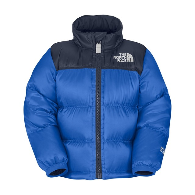 The North Face Infant Nuptse Jake Blue/ Deep Water Blue