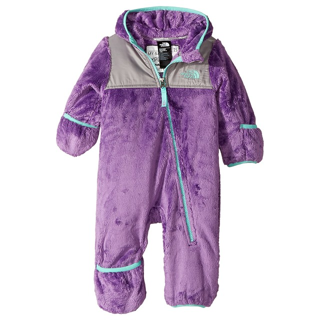The North Face Infant Oso One Piece Bellflower Purple