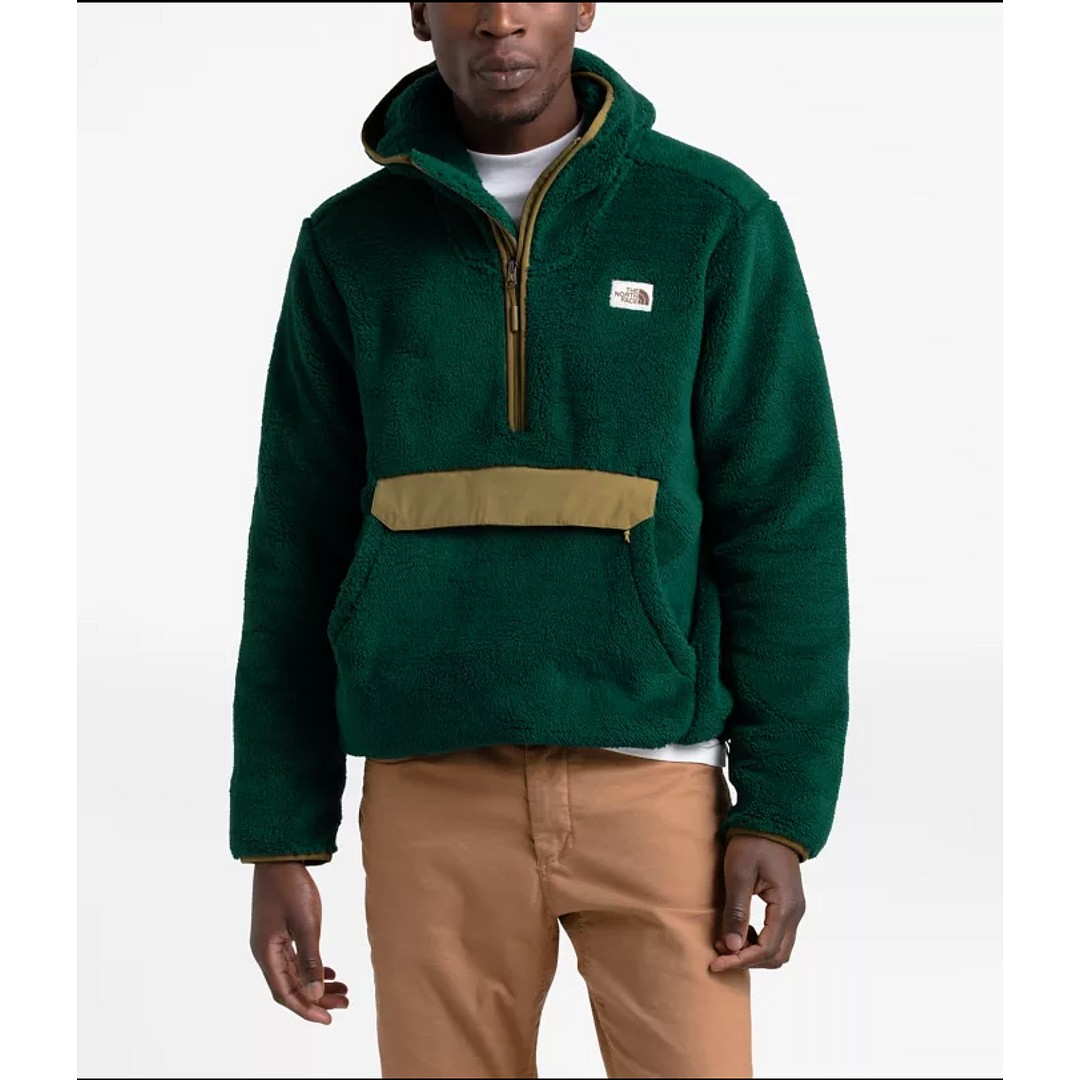 M Campshire Pullover Hoodie Night Green British