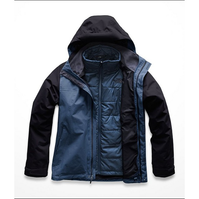 The North Face M Carto Triclimate Shady Blue / Urban Navy
