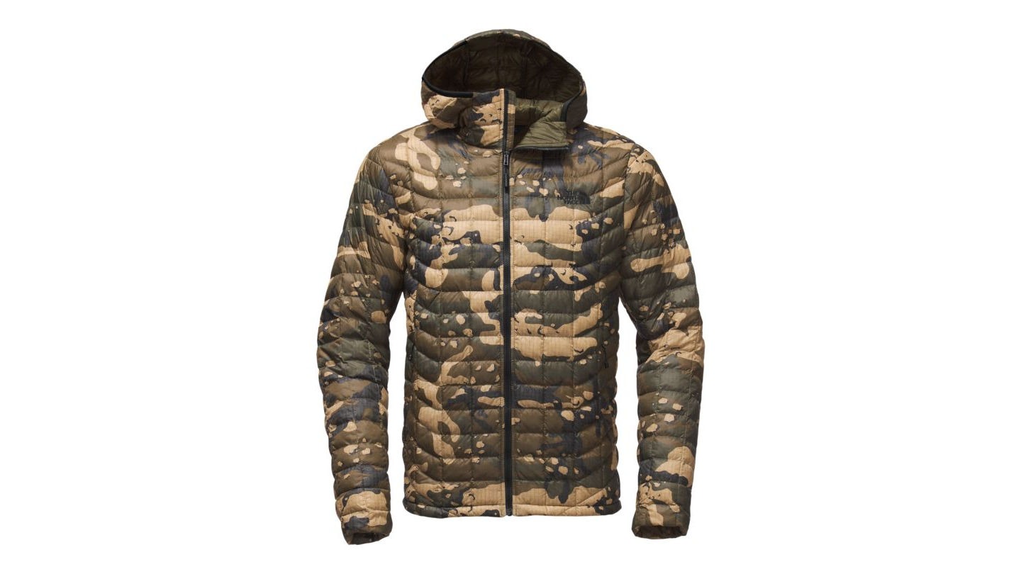 The North Face Men's Thermoball Hoodie Burnt Olive Green