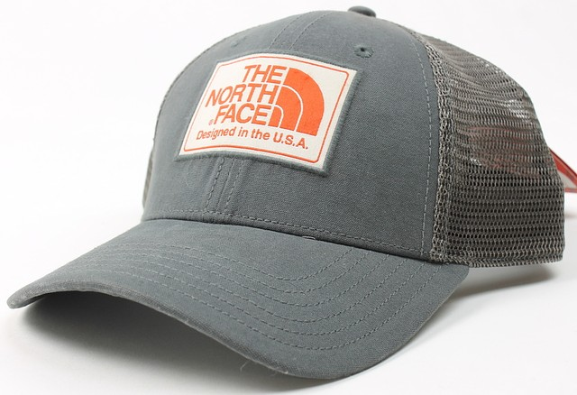 6d32741e1 Details about The North Face Mens Mudder Trucker Snapback Hat Gray One Size  New