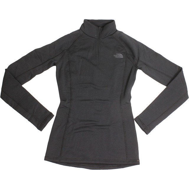 The North Face W Expedition Zip Neck TNF Black/ TNF Black