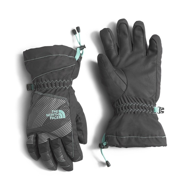 The North Face Youth Revelstoke Etip Graphite Grey/ Ice Green