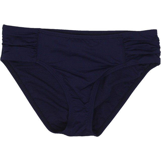 Tommy Bahama Pearl High-Waist Side-Shirred Mare Navy