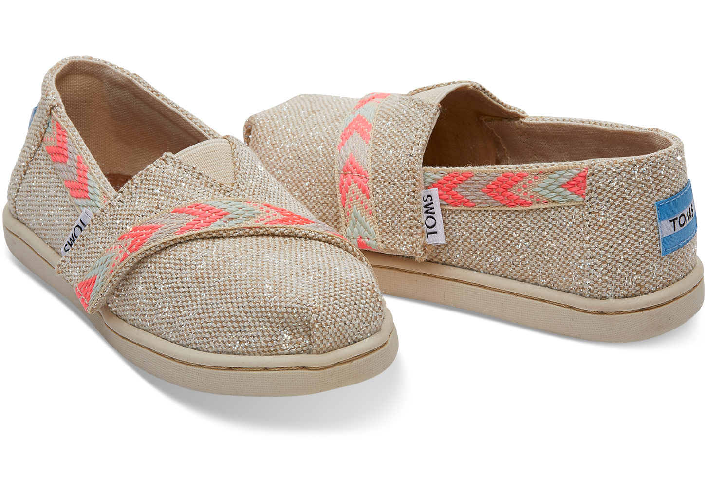 2a4983d0348 Classic Slip Ons - Natural Metallic Burlap - Flying Point Surf