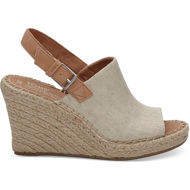 Toms Monica Natural Hemp/Leather