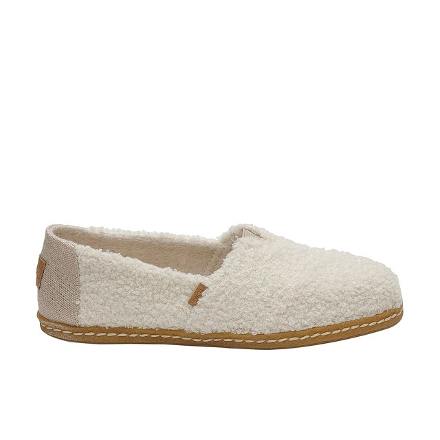 Toms Natural Plush Shearling Natural