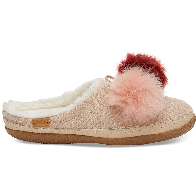 Toms Pom Pom Ivy Rose Cloud