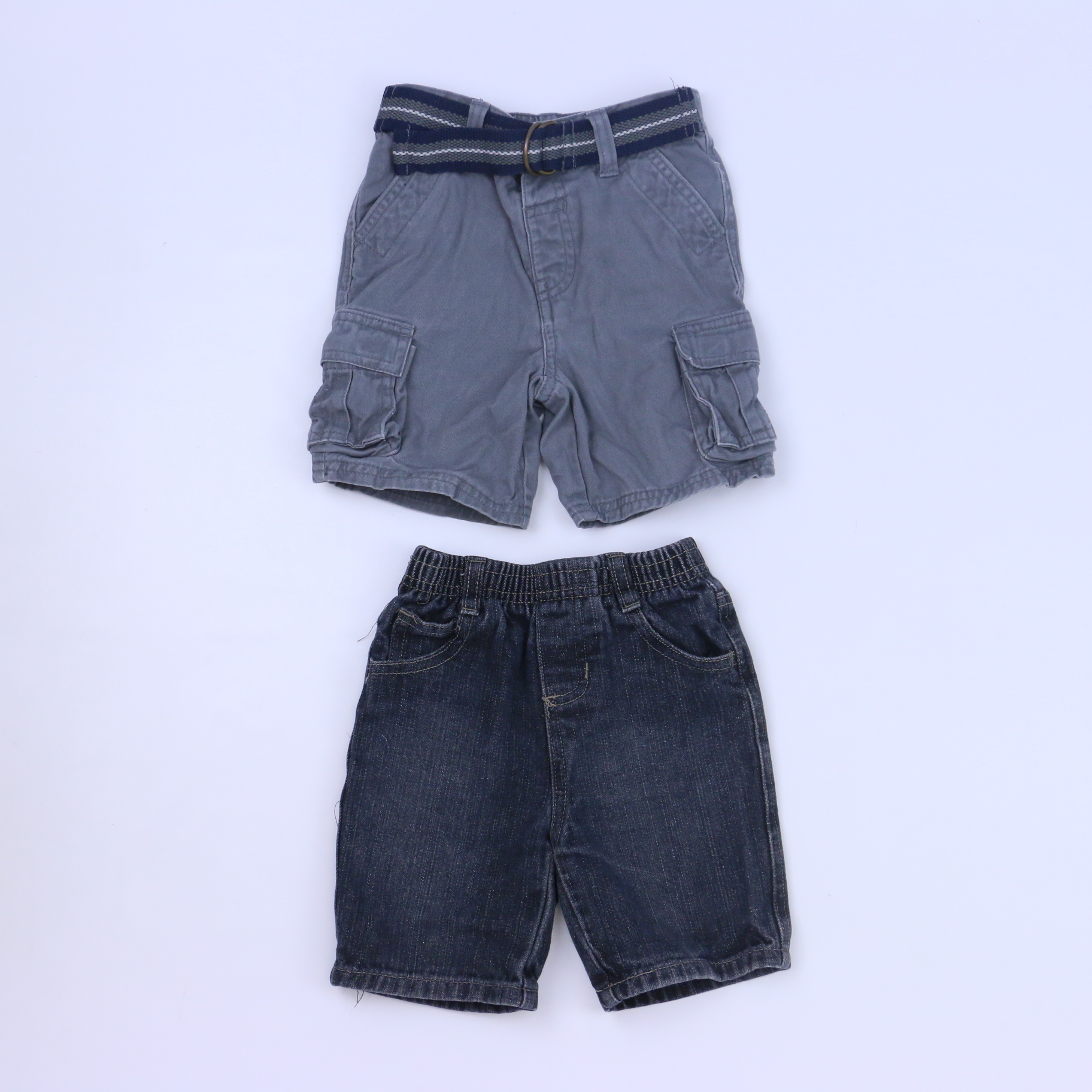 d6e4775d67df2 Set of 2 Cargo Shorts size: 18-24 Months - The Swoondle Society
