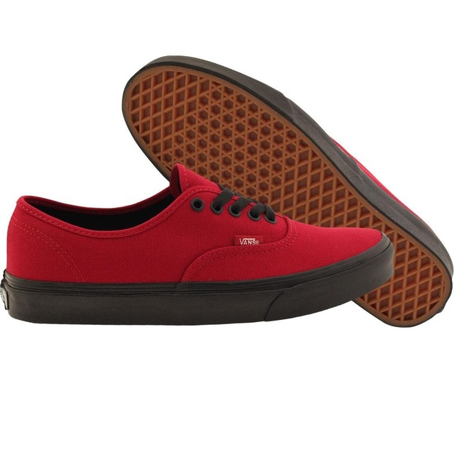 9db5d836f6b8d6 Vans Authentic Black  55.00 · Vans Authentic (Blacksole) Jester Red