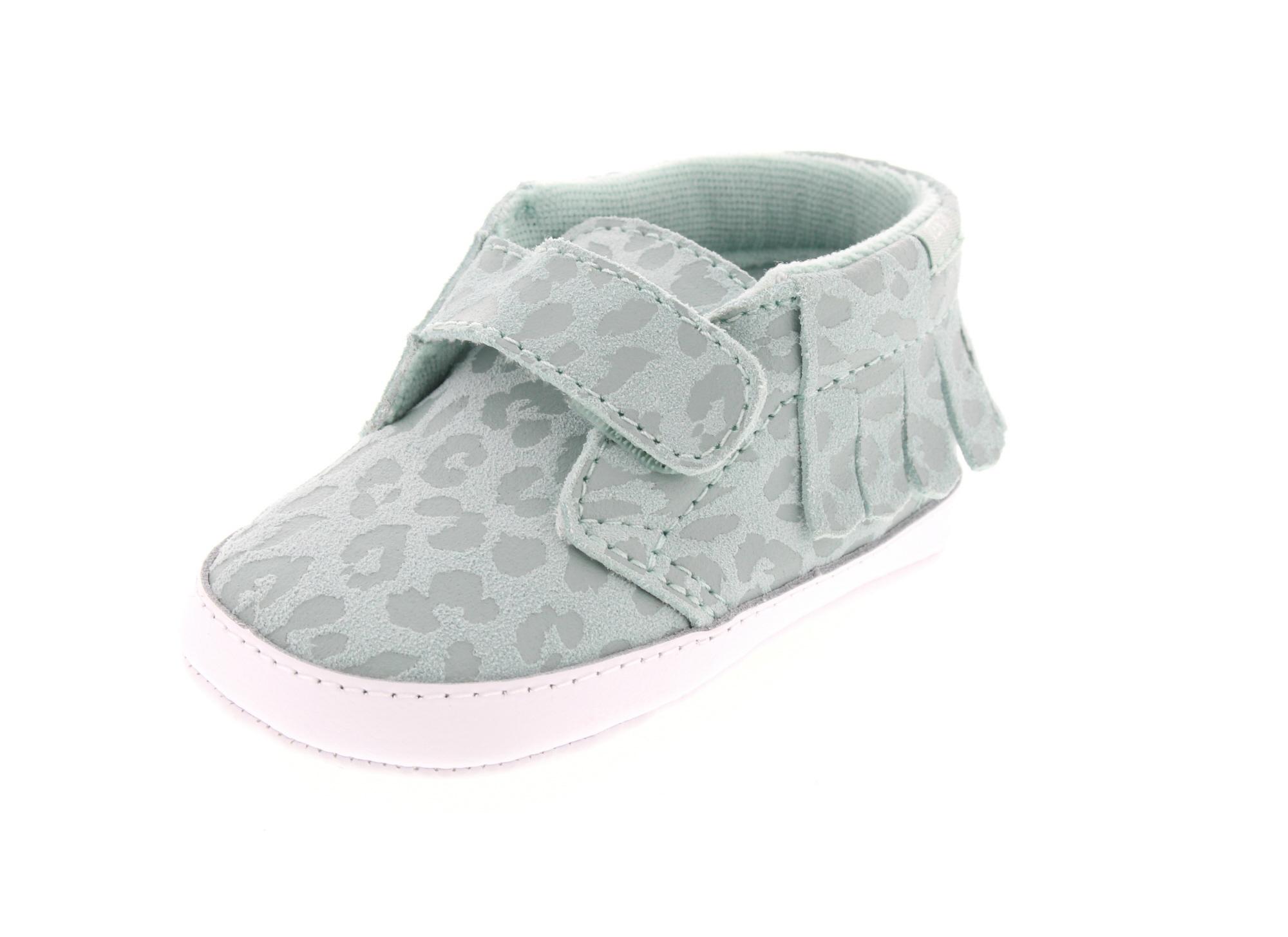 Footwear Kids Baby Chukka V Moc Crib Leopard Suede Harbor