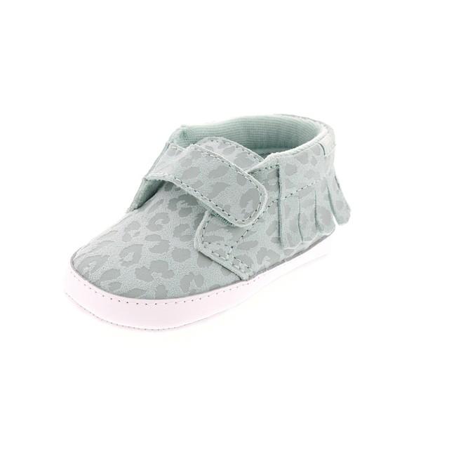 Vans Chukka V Moc Crib (Leopard Suede) Harbor Grey