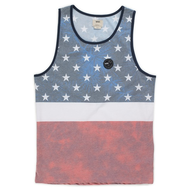 Vans Era Stars American Flag