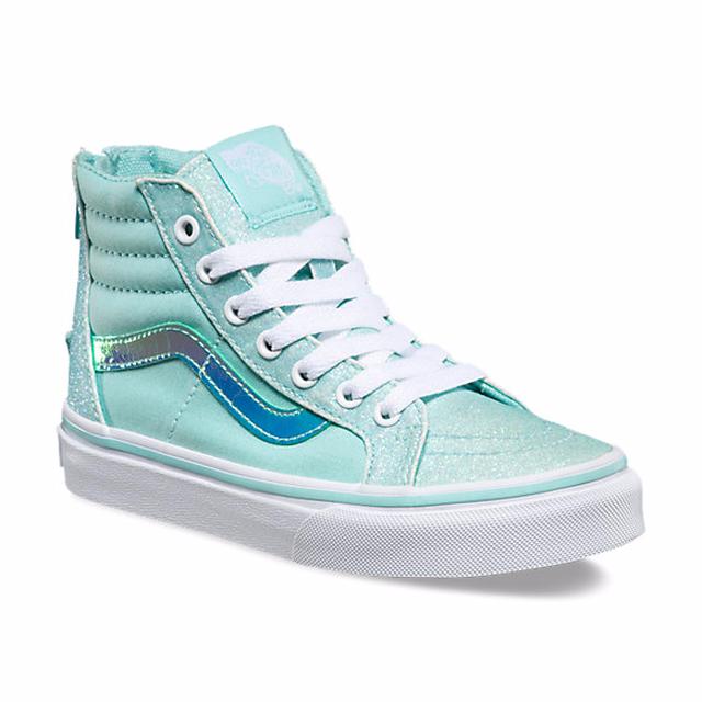 e7d97c9b18 Footwear · Kids · Girls · Sneakers · G SK8-Hi Zip - (Glitter   Iridescent)  Blue True White