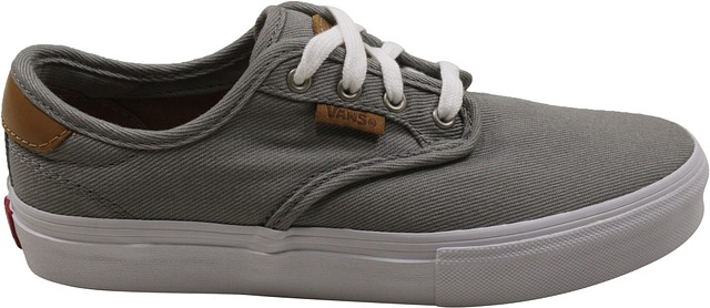 d7d3a09669 Vans Kids Chima Ferguson Pro Sneakers Grey White 11 New