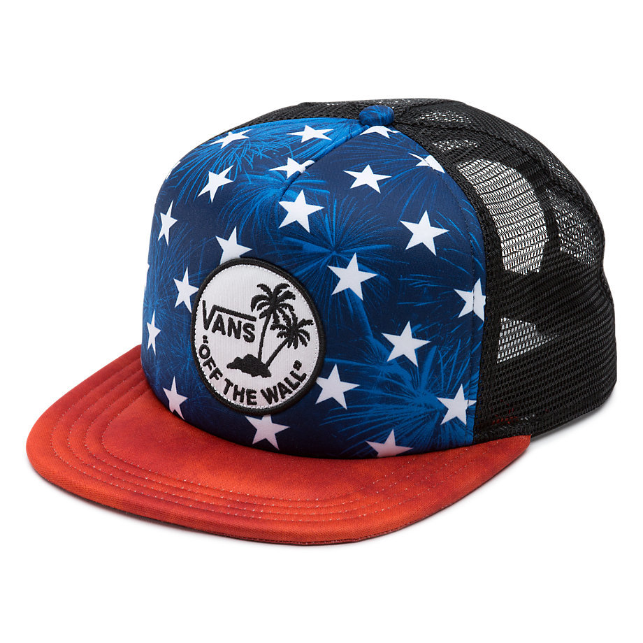 c03776c216 Kids Surf Patch Trucker - American Flag - Flying Point Surf
