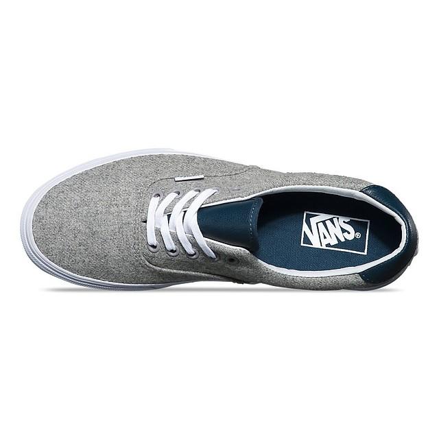 Vans Mens Varsity Era 59 Sneakers Gray True White 4 New 190285271612 ... 3b298ce17
