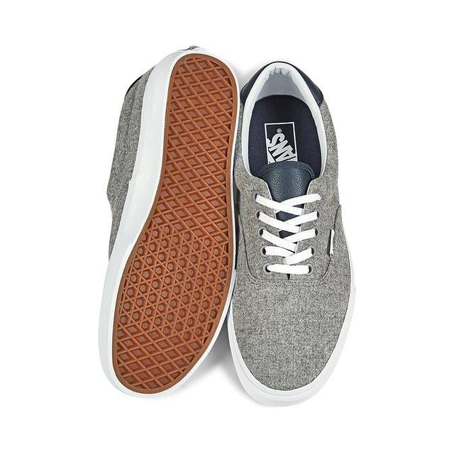 Vans Mens Varsity Era 59 Sneakers Gray True White 3.5 New  8179d63f2