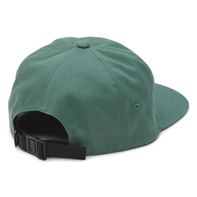 528e1d864e115 Vans Mens Salton Jockey Baseball Hat Dark Forest One Size New ...