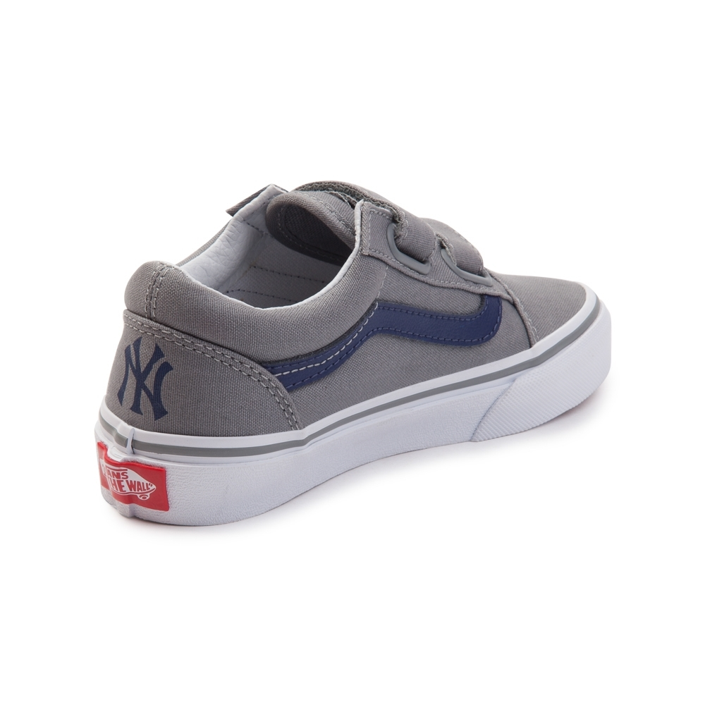 Old Skool V - (MLB) New York Yankees Grey - Flying Point Surf 1a9a9a296