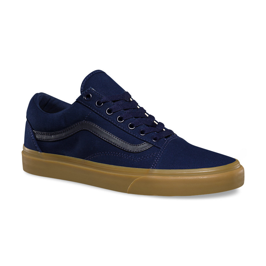 Fast Delivery Mens Vans Old Skool Eclipse / Light Gum
