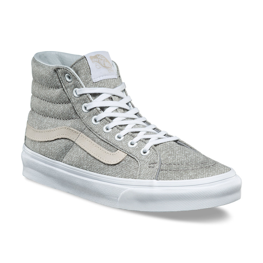 fa925c53f101b4 Sk8-Hi Slim - (J S) Frost Gray  True WhiteWomens - Flying Point Surf
